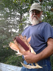 Terry and the red corn