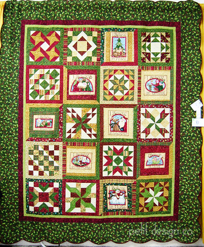 TN State Fair quilts - Christmas
