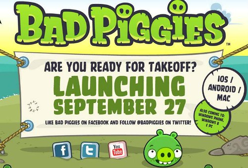 Blast Off With The Launch of Bad Piggies
