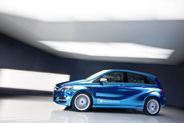 Mercedes-Benz Clase B Concept electric drive