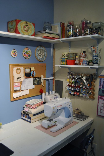 my sewing nook