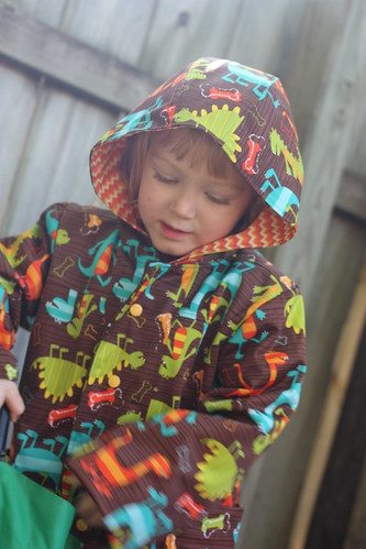 School Days Raincoat