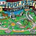 Riot Fest Humboldt Park Map