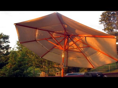 sunlight umbrella shadows connecticut july ct waterbury 2012 canonpowershotelph310