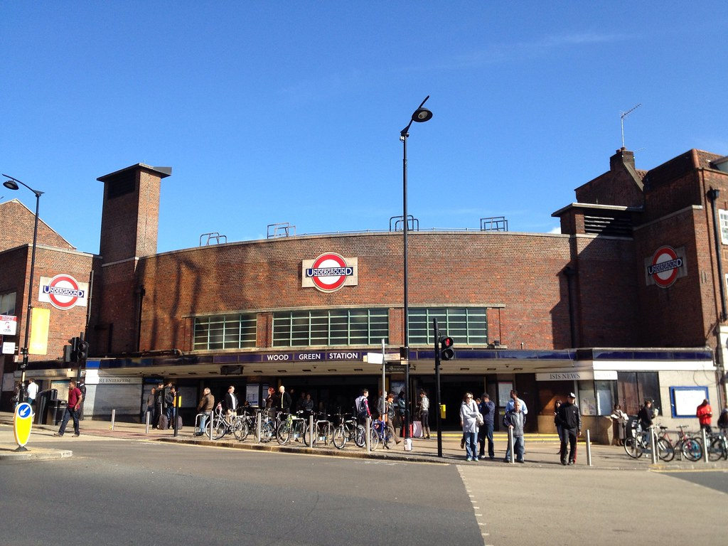 Wood Green Underground Station
