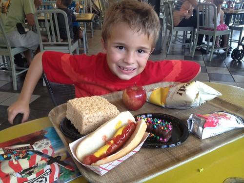 Ezra's lunch