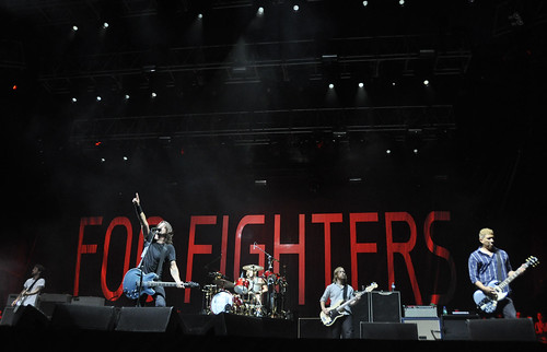 Foo Fighters at DeLuna Fest 2012