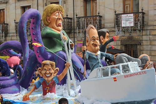 Reinosa fotos del desfile de carrozas 2012 fiesta de interés turística regional