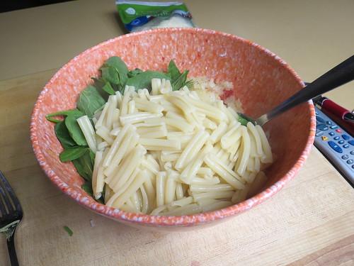 pasta in