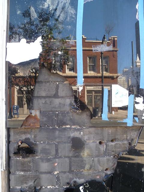 Broken Mirror Street Collage