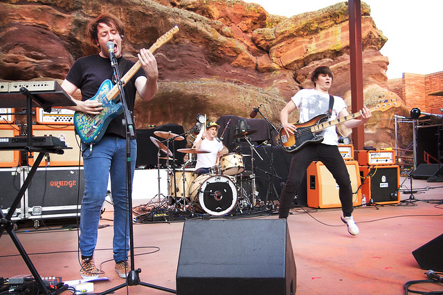The Wombats at KTCL Channel 93.3 Big Gig Red Rocks