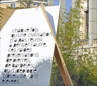 La Cité nationale d'histoire de l'immigration à son ouverture (Paris)