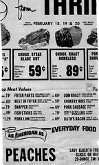 Skagit County Food Ad - 1972