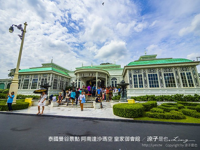 泰國曼谷景點 阿南達沙瑪空 皇家御會館 3