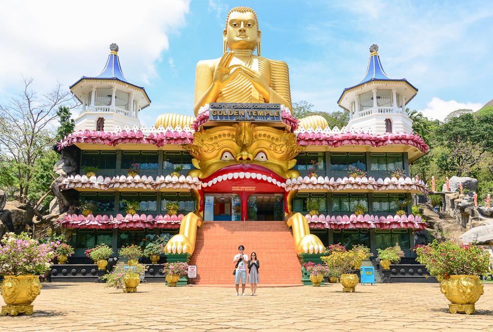Golden Dambulla Temple