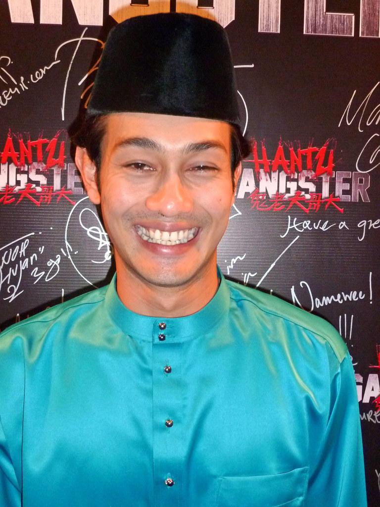 Farid Kamil in Baju Melayu