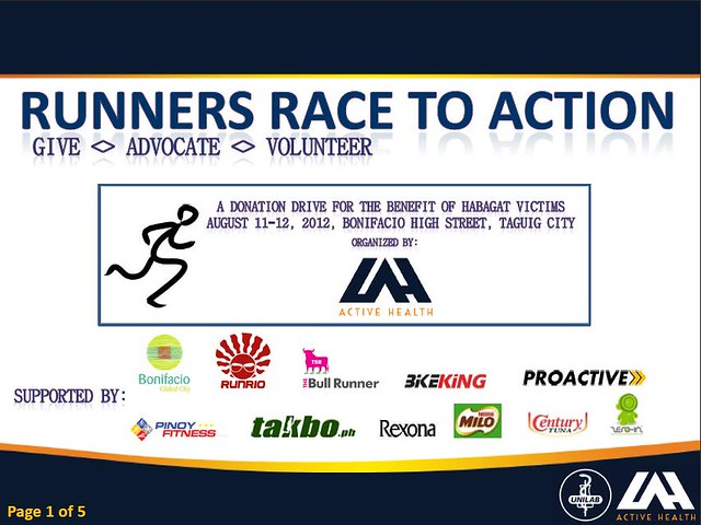 runners race to action give advocate volunteer
