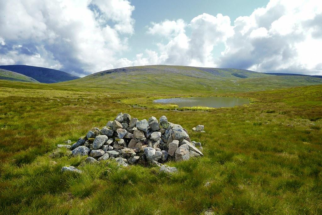 Rock pile on the Moine Mor