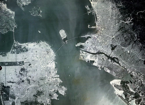 San Francisco and East Bay (Satellite)