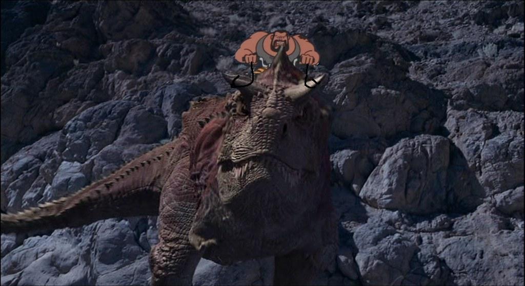 Carnotaurus disney ride thread two photoshop mashups
