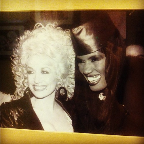 Dolly Parton + Grace Jones = LOVE