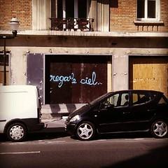 regarde ciel... #paris #streetart