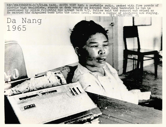 Da Nang 1965 - VC terrorist Le Dau captured during Vietnam War