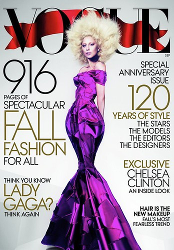 lady gaga us vogue september 2012 cover