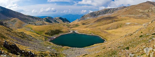 Lac Petit - panorama