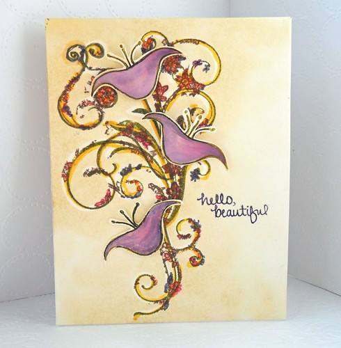 Fresh Blooms from NEAT and TANGLED stamps
