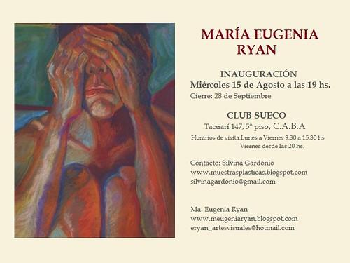 María Eugenia Ryan. Muestra Individual