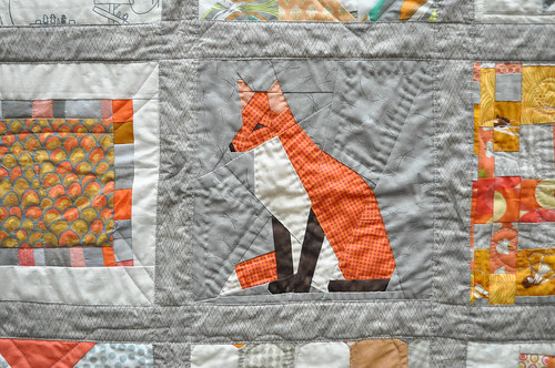 Paper Pieced Fox by Katrina