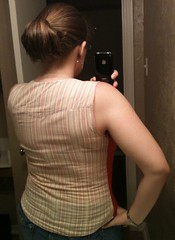 Mix and Match Refashion - Back, After