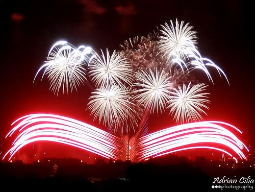 Malta --- Mqabba --- Fireworks --- Santa Marija