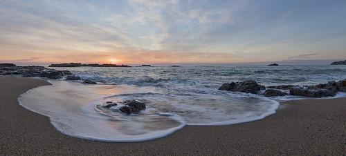 beach sunrise fisheye korora 5dmarkii 5dmark2