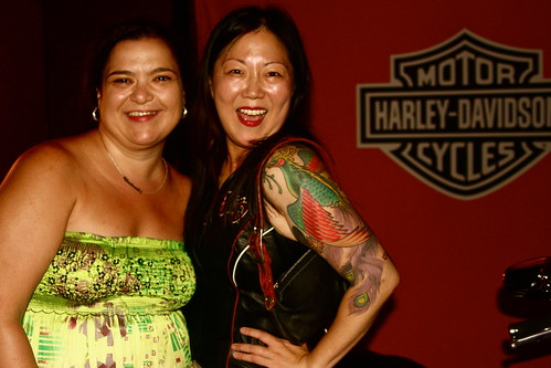 Margaret Cho and me.
