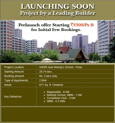 Amit Astonia Classic Pre Launch Offer in Undri, Pune near Bishops School starting at Rs 3300 psf - Project by a Leading builder by jungle_concrete