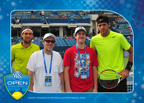 2012 Western & Southern Open Coin Toss -- Juan Martin Del Potro v Jeremy Chardy, 08.17.2012