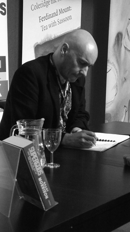 Edinburgh Book Festival 2012 - Grant Morrison 01