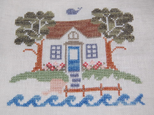 Beach cottage sampler by CCN ~ in progress