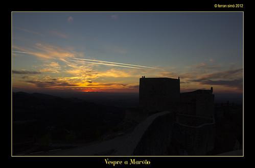 sunset castle portugal colors clouds canon landscape atardecer paisaje colores nubes castillo marvão castell vespre paisatge núvols 60d tamron18270