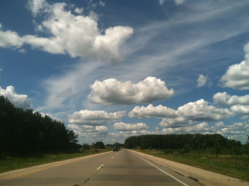 I'm having a love affair with this Midwestern sky, by Serena McClain