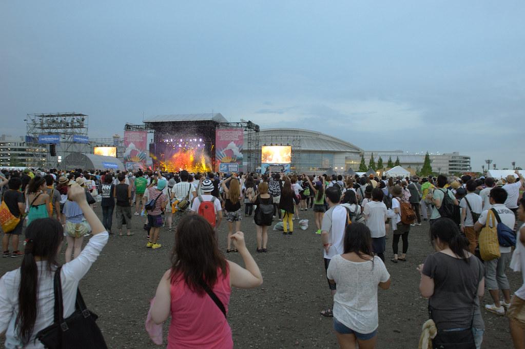 Summer Sonic 2012 Osaka 1st day