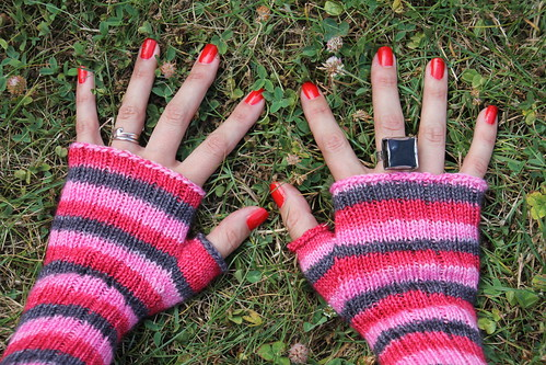 The Pink Ladies Mittens