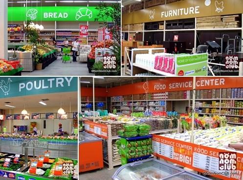 SM Hypermarket Areas