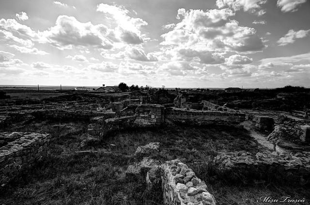 Cetatea Histria - vechi