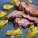 Duck Breast with Avocado and Orange Sauce