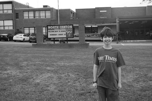 Noah, middle school