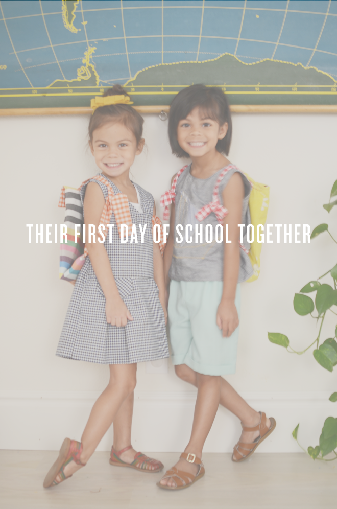 the first day together