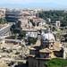 The Colosseum and the Roman Forum from the top of Il Vittoriano